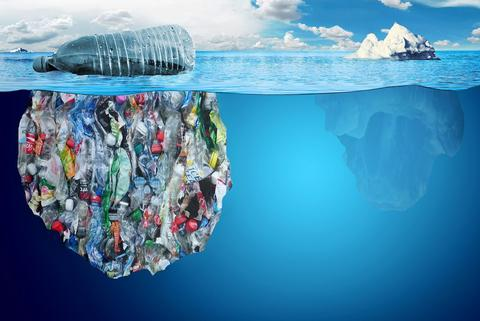 זיהום הפלסטיק באוקיינוס